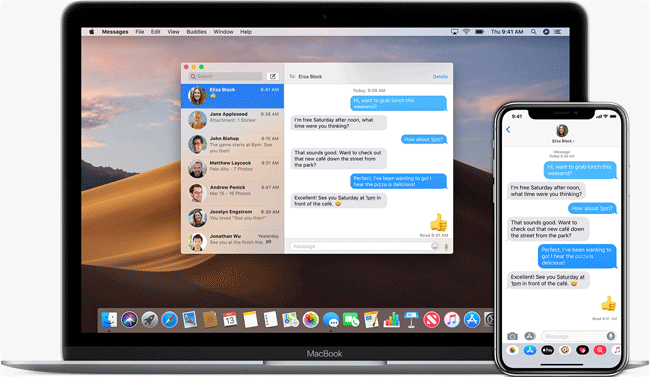 iMessage on Mac OS