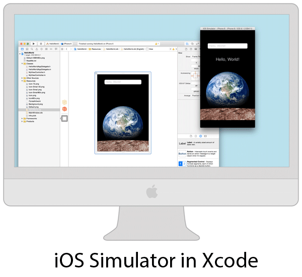 iOS Simulator in Xcode