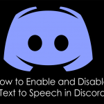 How to Enable and Disable Text to Speech in Discord