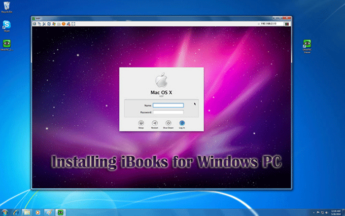 Installing iBooks for Windows PC