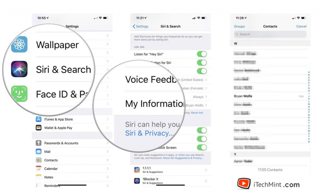 How To Change Your Profile In Siri
